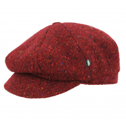 cap gavroche chiné red city sport