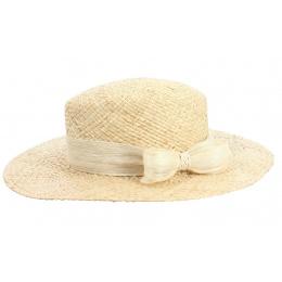 Chapeau Femme Aliska Paille Naturel - Traclet