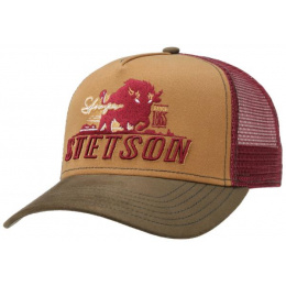 copy of Snapback Shafter College Coton Bleu - Stetson
