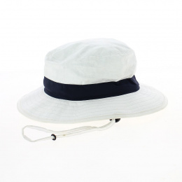 chapeau Binic anti UV ruban bleu- Soway