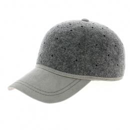 Grey british ball cap