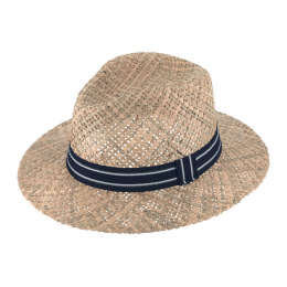 Hat straw style Borsalino