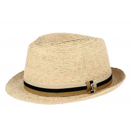 copy of Fedora San Fernando Natural Straw Hat - Fléchet