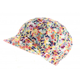 copy of Reversible gavroche cap blue/pattern