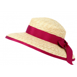 copy of Hepburn Natural Straw Hair Cap Hat - Fléchet