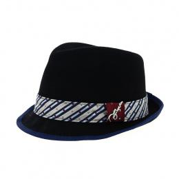 Trilby Ringo Hat Black