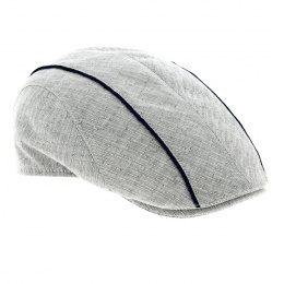 Casquette Milano Bec de canard gris clair