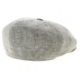Casquette Monte Carlo Huit cotes gris clair