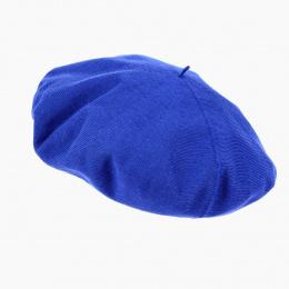 Béret Basque Jacinthe Bleu - Laulhère