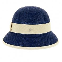 Martika Blue Cloche Hat - Fléchet