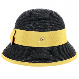 Martika Black Cloche Hat - Fléchet