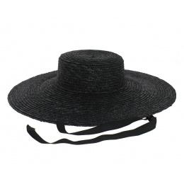 copy of Black straw floppy hat - Saint-Tropez