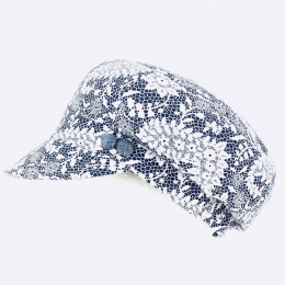 Casquette Gavroche Anémone Bleu - Traclet