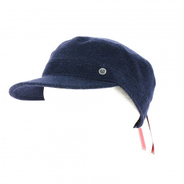 Gore Tex Army Cap Dark Blue - Bugatti
