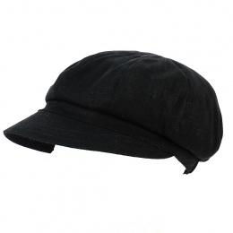 Gavroche Cap Linen Black - MTM