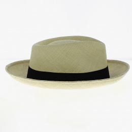 Chapeau Gambler Panama Naturel - Traclet