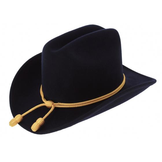 Chapeau Officier Union Feutre Laine noir - Traclet