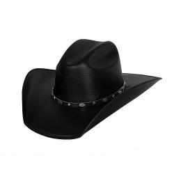 Chapeau CowBoy Bullhide Hank It Black - Justin Moore