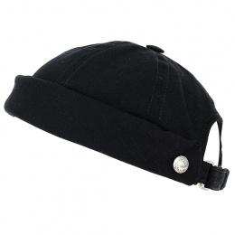 Bonnet Docker Cooper Coton Noir Savage - MTM