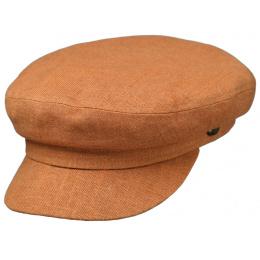 copy of Navy Cotton & Linen Beige Cap - Traclet