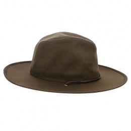 Ranger II Brown Cotton Hat - Brixton