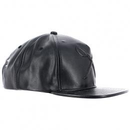 Hard Graft Shine Black Snapback Cap - King Apparel