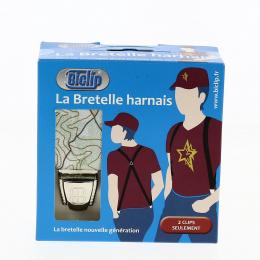 Bretelles Harnais Carte Cardinale Verte - Biclip