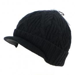 Bonnet The Yukon Brim Noir - Coal