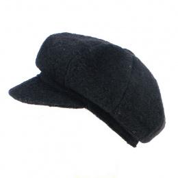 Cap Gavroche Rasta Wool Black - Traclet
