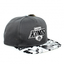 Kings Vintage Camouflage Flat Cap Grey- 47 Brand