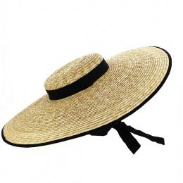 Chapeau Provencal Marignane Paille Naturelle - Traclet