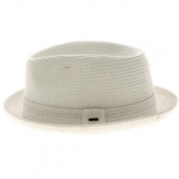 Billy White Porkpie Hat - Bailey