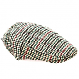 Casquette Plate Robins Laine Beige - Traclet