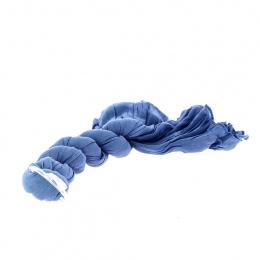 Chèche Torsade Bleue - Traclet