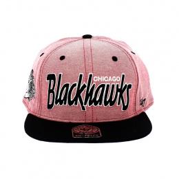 Casquette Snapback Blackhawks Corail - 47 Brand