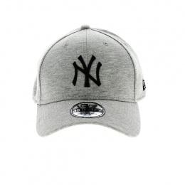 Casquette Baseball Essential Jersey Grise 3D Logo - New Era