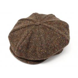 Casquette Irlandaise Marron chiné - Hanna hats