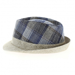 copy of Trilby Tropea Linen Beige Trilby Hat - Traclet