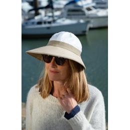 Cannes Beige Soway Cap