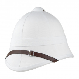 Casque colonial type Anglais Blanc