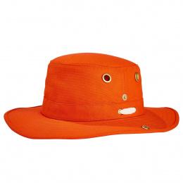 Le chapeau Tilley T3 orange