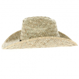 Chapeau Cowboy Houston Paille Naturelle - Brixton