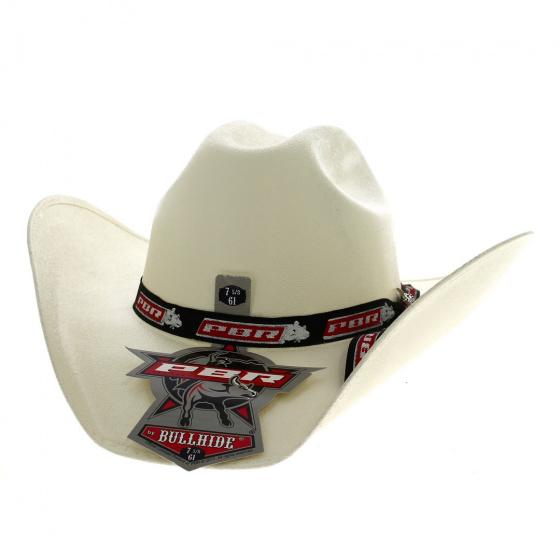 Chapeau Cowboy Cancún Blanc - Bullhide