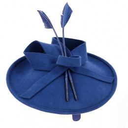 Hat Bibi- Headband Zita Felt Navy - Traclet