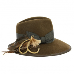 copy of Traveller Prestigious Hat Olive Wool - Traclet