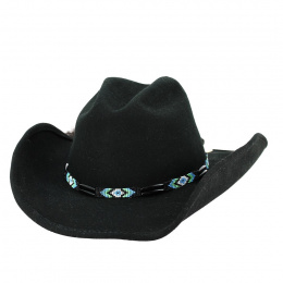 copy of Bullhide Jewel of the West wool cowboy hat