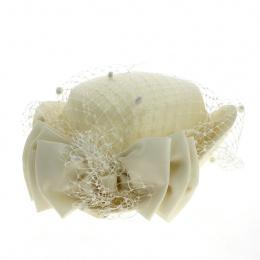 copy of Chapeau Cérémonie Aliska Fleur Paille - Traclet