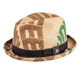 Recycled textile hat - Player Olé Toile de Jute Beige - ReHats