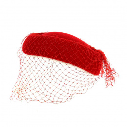 Tambourin Laine & Voile Faniline Rouge ou Blanc - Traclet