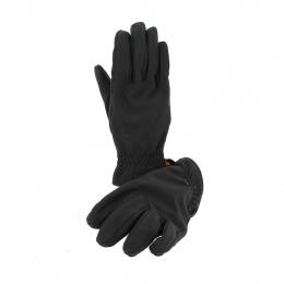 Gants en cuir conductive noir - Stetson
